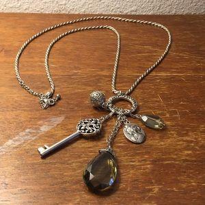 Lia Sophia charm necklace